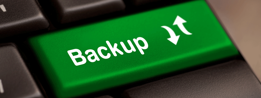 Backup button on keyboard