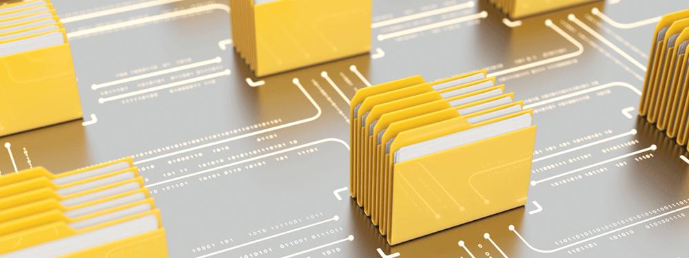 File storage files linked