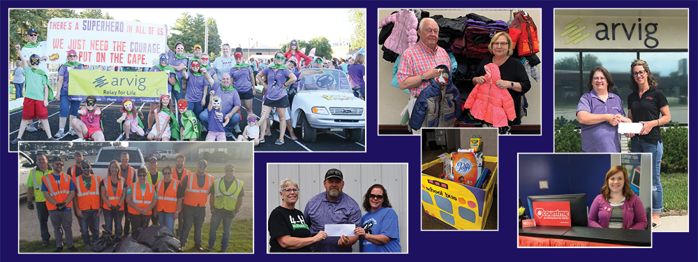 Arvig Charitable Giving