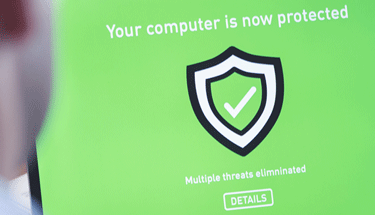 Computer Protected Antivirus Featured