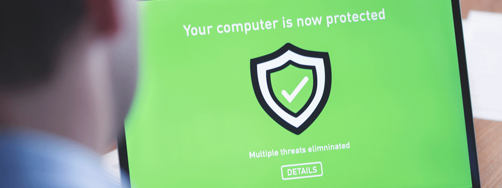 Computer Protected Antivirus