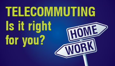 Telecommuting Infographic Featured