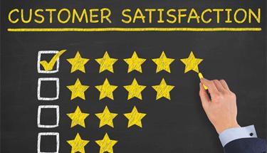 Customer Satisfaction Star Rating