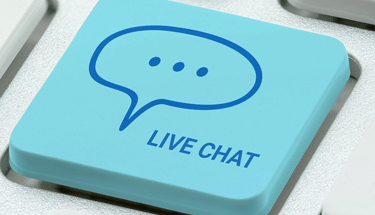 Live chat button Featured
