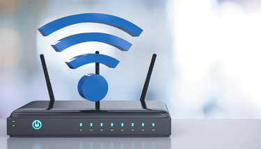 Strong wifi signal from a router Featured