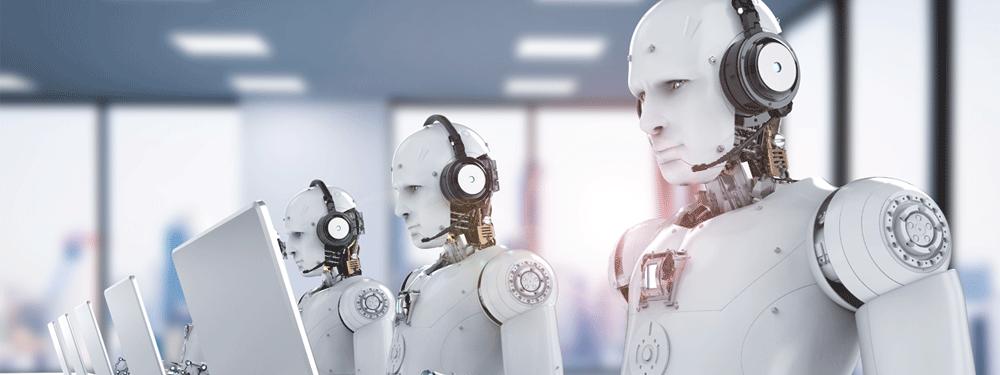 Multiple robots making phone calls