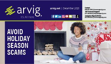 December 2020 Newsletter Feature