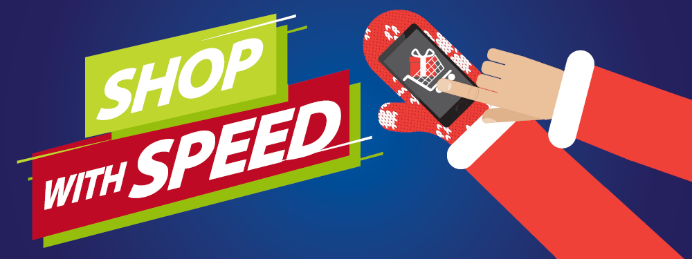 Shop with Speed Infographic