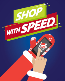 Shop with Speed Infographic Post