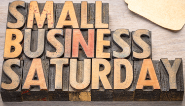 Small Business Saturday in blocks Featured