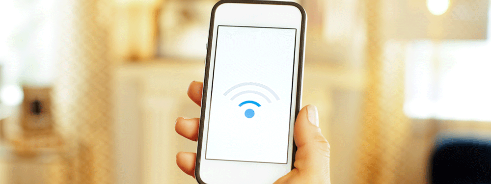 Weak WiFi signal on cell phone