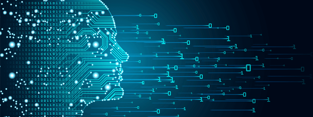 Artificial Intelligence Coming From Head