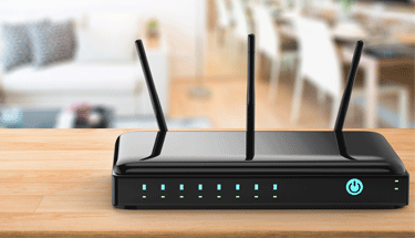 Black WiFi Router Featured