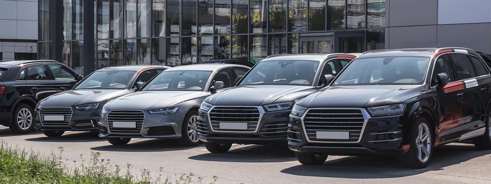 Car sales lot