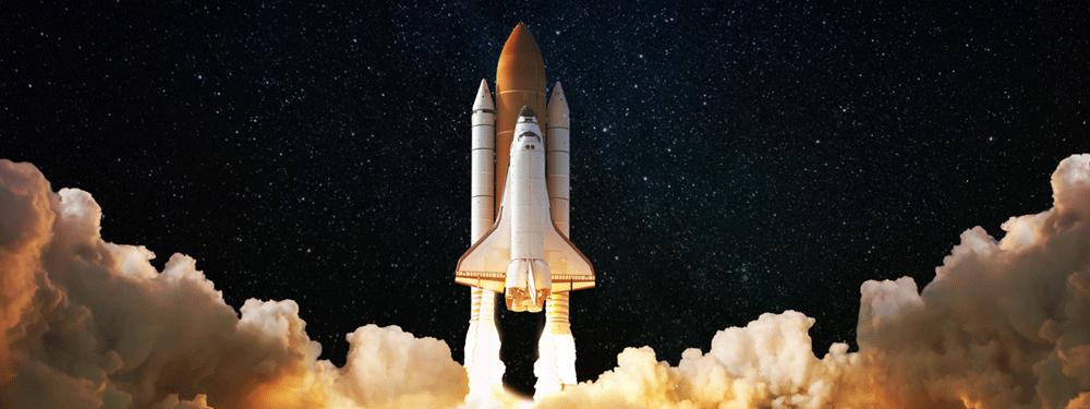 Spaceship launching