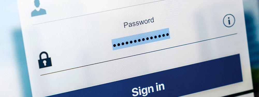 Facebook Security Password