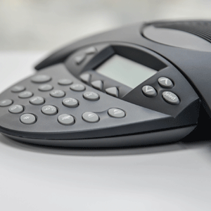 Phone conference equipment