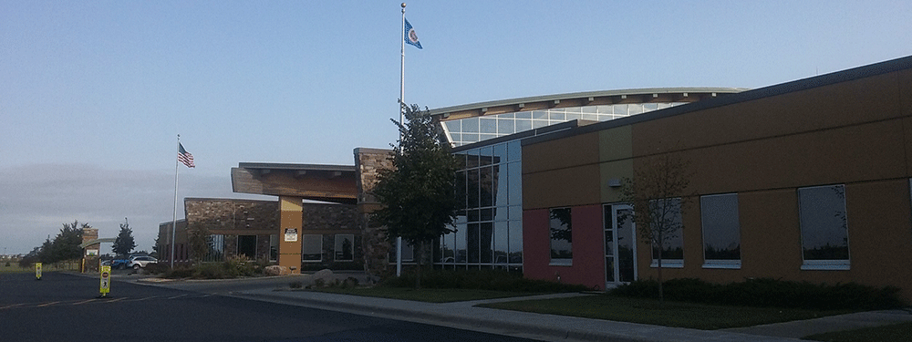 Front of Perham Health
