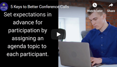 5 Keys to Better Conference Calls Featured