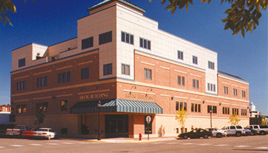 Arvig Building in Perham Featured