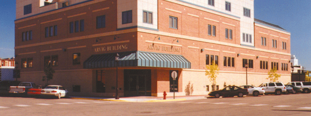 Arvig Building in Perham