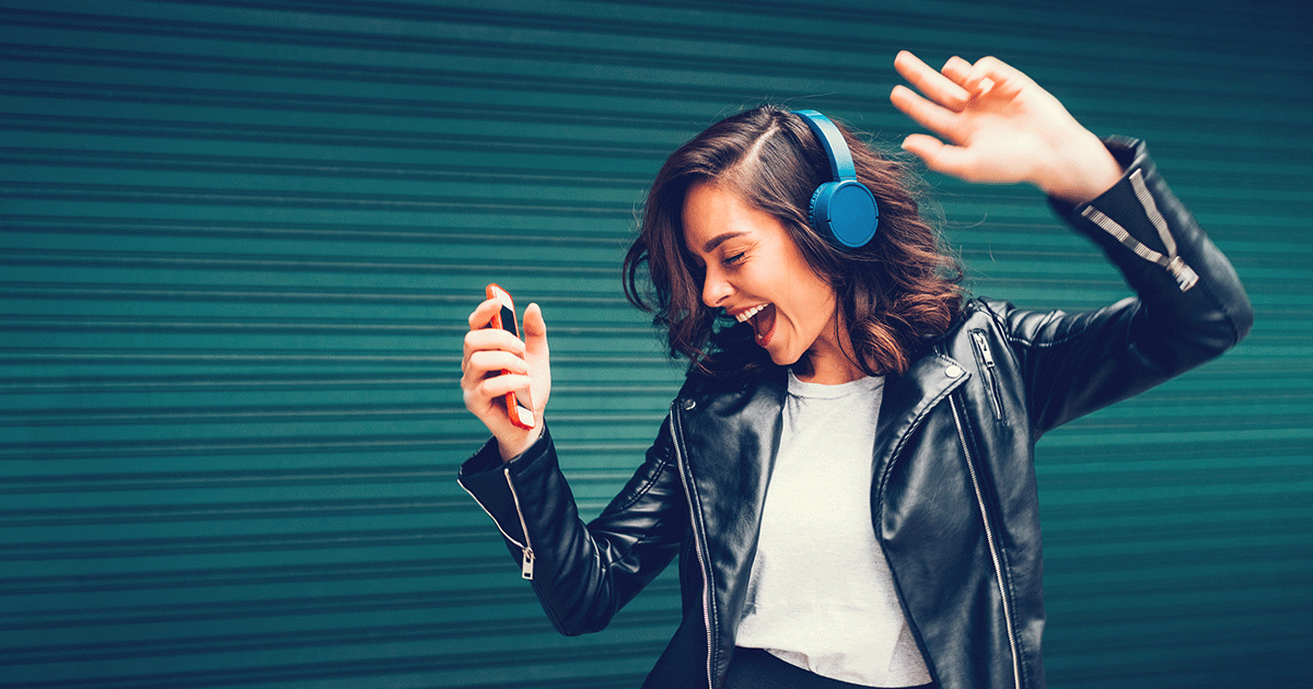 Image result for dancing headphones