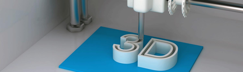 3D printer printing 3D