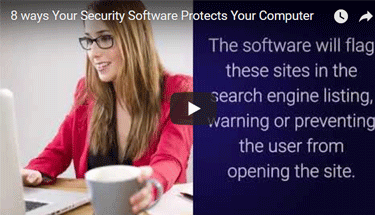 Security software protection video