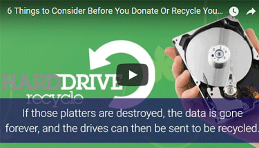 Video about Donating and Recycling technology