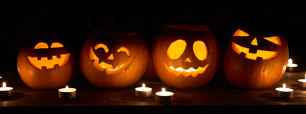 Halloween Pumpkins backlight