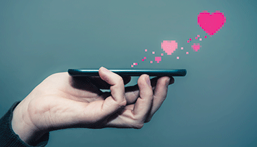 Hearts Dating Mobile Device Featured