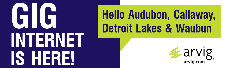 Gig Announcement Audubon, Callaway, Detroit Lakes & Waubun