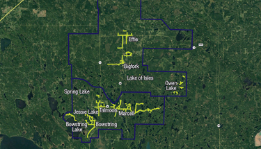 Bigfork Area Map Featured