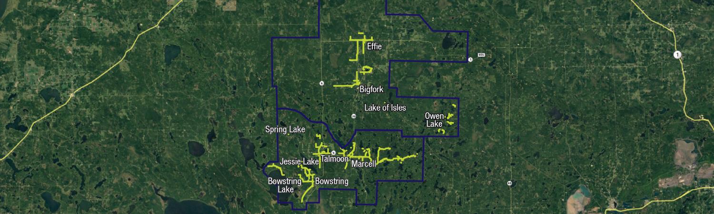 Bigfork Area Map