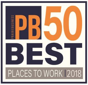 PB 50 Best Places to Work 2018 Award