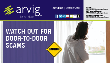 October Arvig Newsletter 2019 Featured