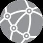 Modern Network Health Care Icon