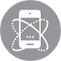 Mobile device management icon managed it services