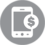Cost savings icon hosted pbx